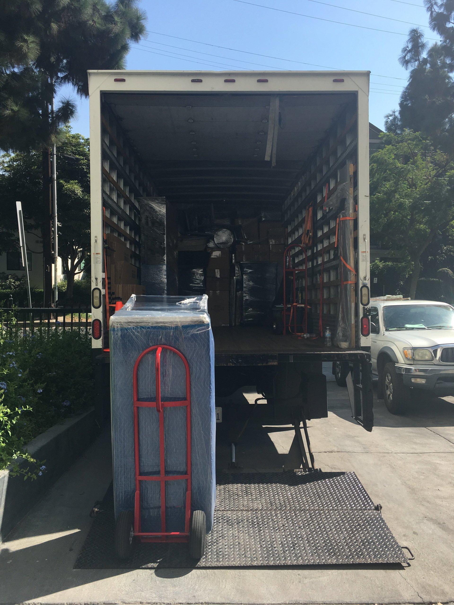 Moving Company Burbank